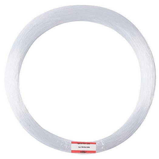 PMMA plastic end glow fiber optic cable